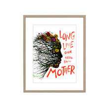 FOUR BILLION YEAR OLD MOTHER FINE ART PRINT