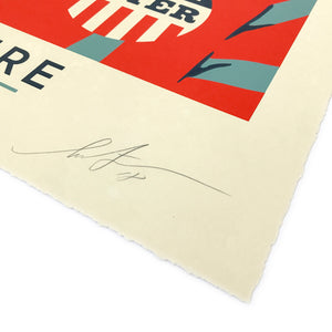 POWER TO THE POLLS LG FORMAT SIGNED & NUMBERED SILKSCREEN