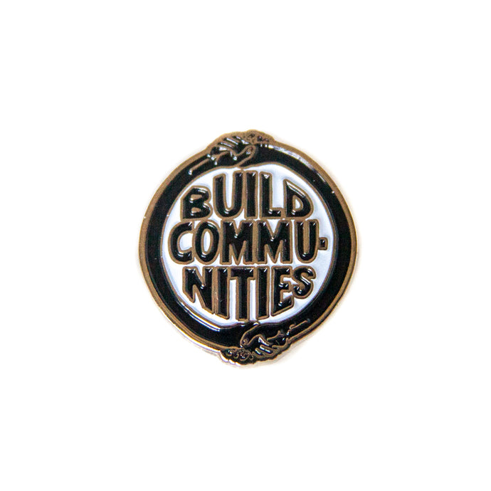 BUILD COMMUNITIES PIN