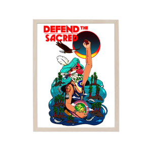 DEFEND THE SACRED FINE ART PRINT