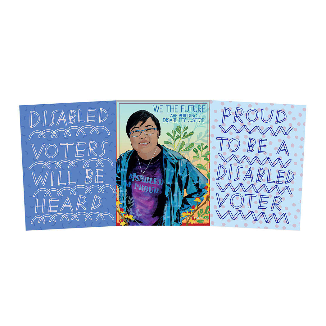 DISABILITY JUSTICE POSTER PACK