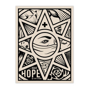 NEW! SIGNED LIMITED EDITION HAVE HOPE SILKSCREEN BY DON JON