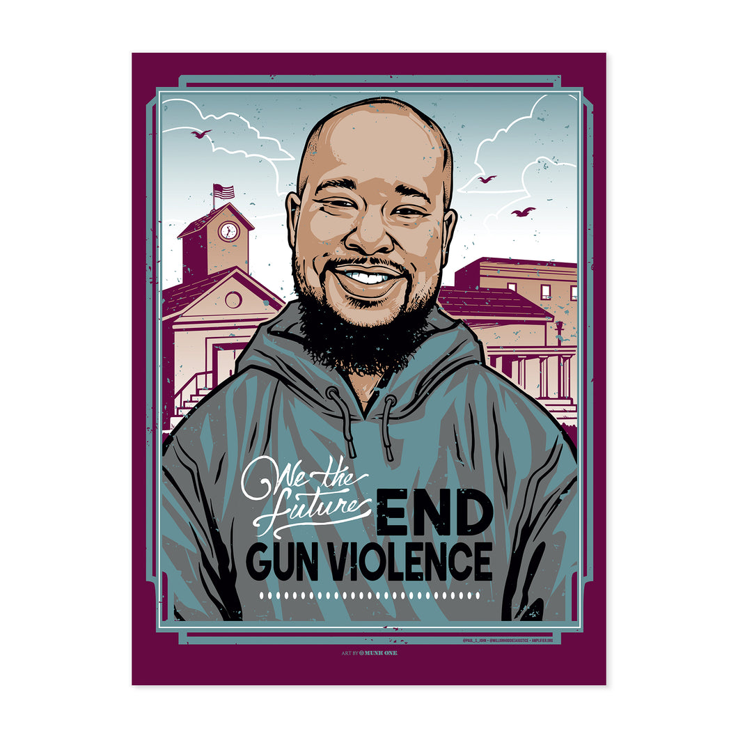 END GUN VIOLENCE SIGNED & NUMBERED SILKSCREEN