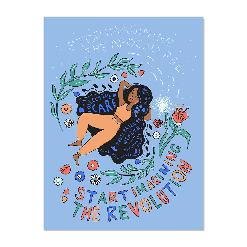 IMAGINE THE REVOLUTION FINE ART PRINT