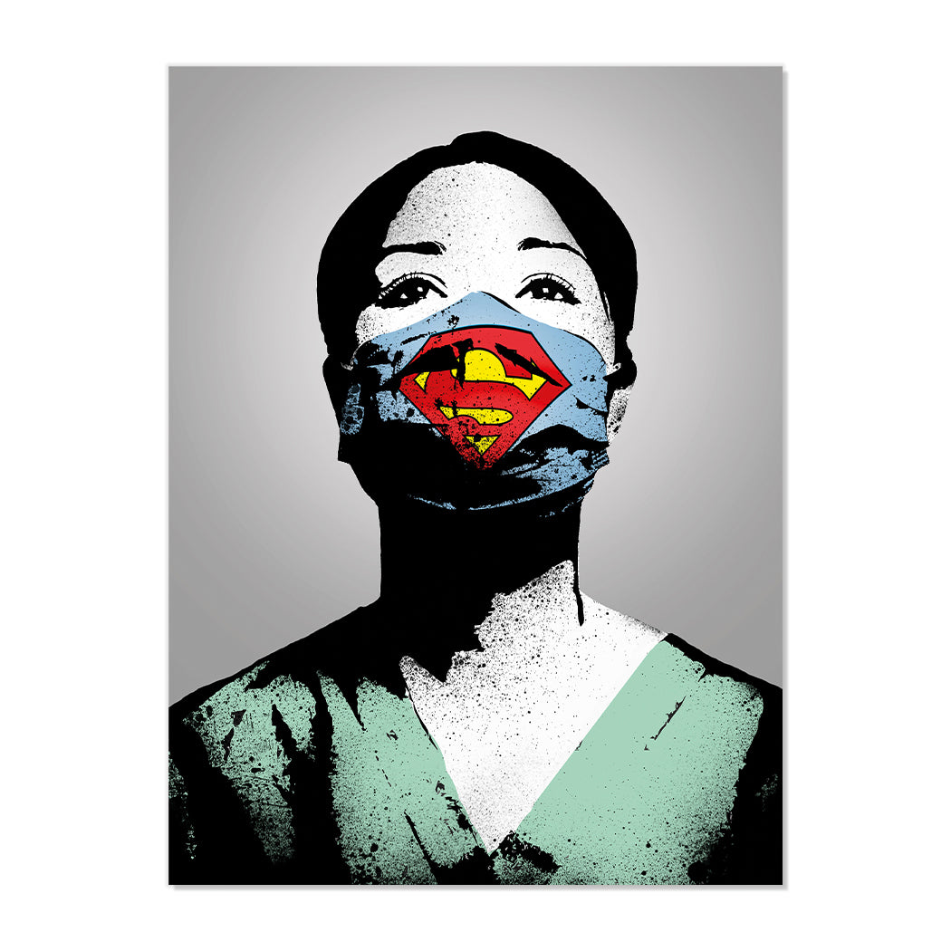 SUPER NURSE FINE ART PRINT