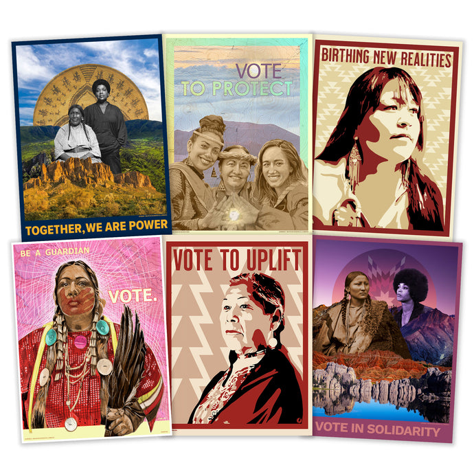 NEW! INDIGENOUS PEOPLES' DAY IS EVERY DAY POSTER PACK