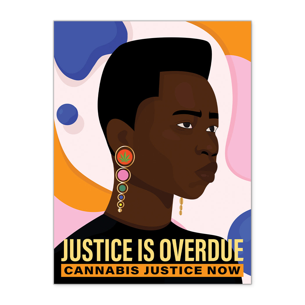 NEW! JUSTICE IS OVERDUE FINE ART PRINT
