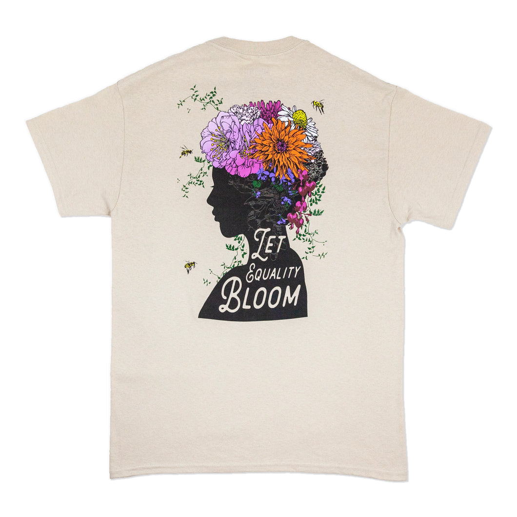 NEW! LET EQUALITY BLOOM T-SHIRT