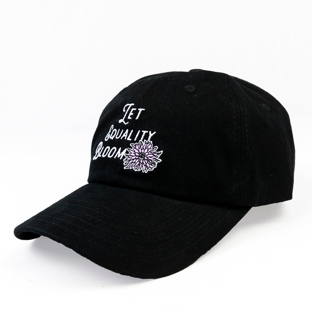 LET EQUALITY BLOOM HAT