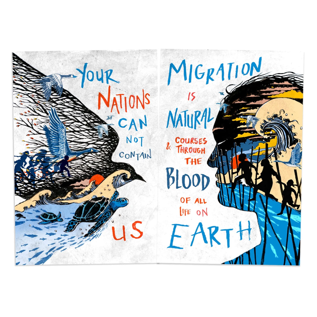 MIGRATION IS NATURAL POSTER PACK