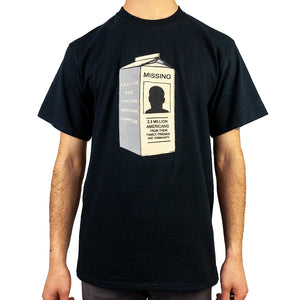NEW! MISSING T-SHIRT