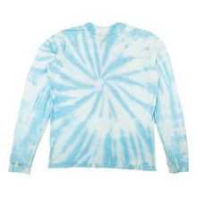 NEW! NOT YOUR BABY BLUE TIE DYE LONG SLEEVE T-SHIRT