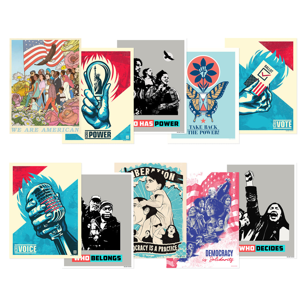 REALIZING DEMOCRACY POSTER PACK