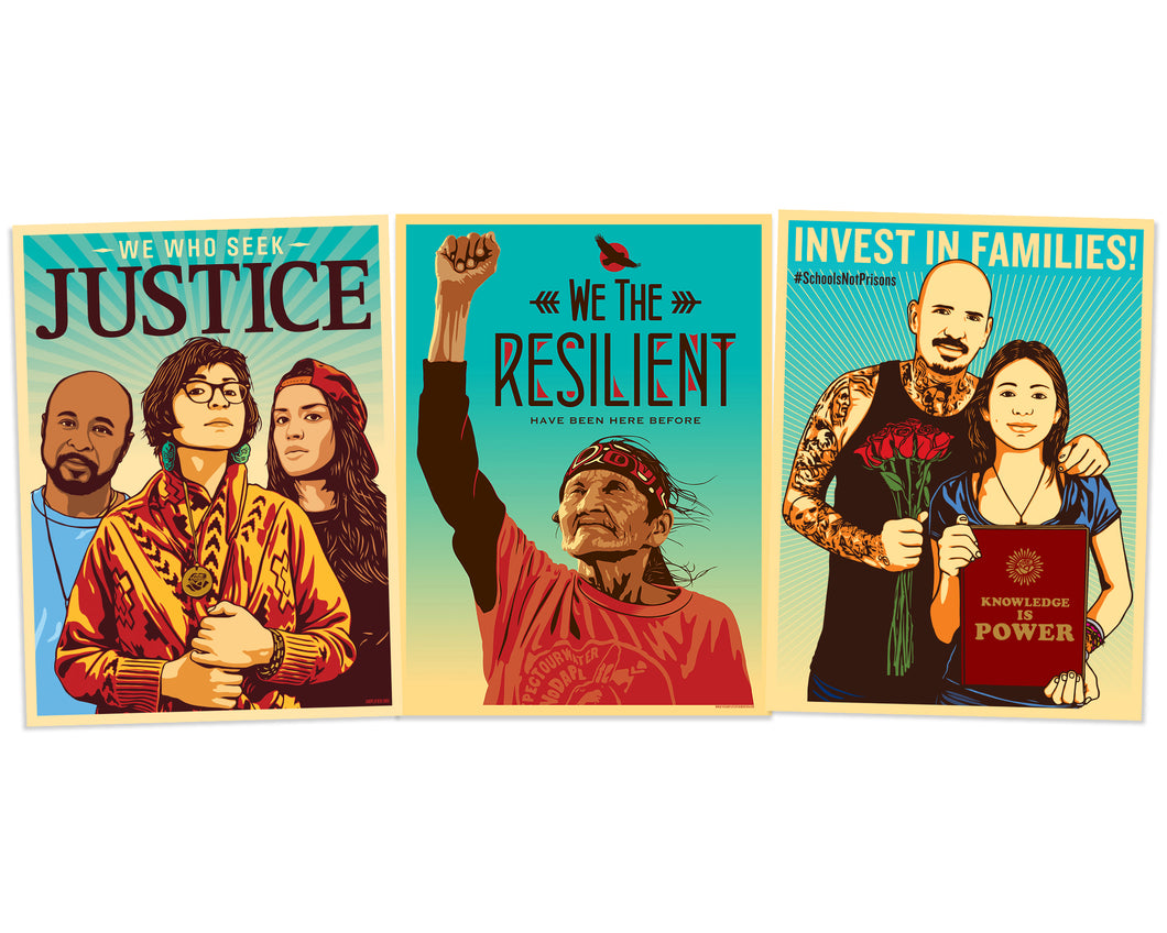 RESILENCE AND JUSTICE POSTER PACK