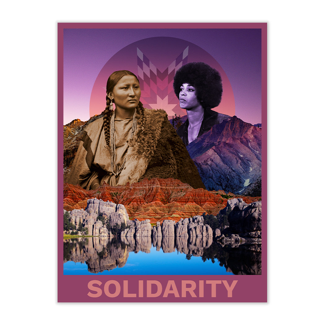 NEW! SOLIDARITY FINE ART PRINT