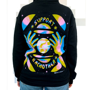 NEW! SUPPORT EACH OTHER HOODIE