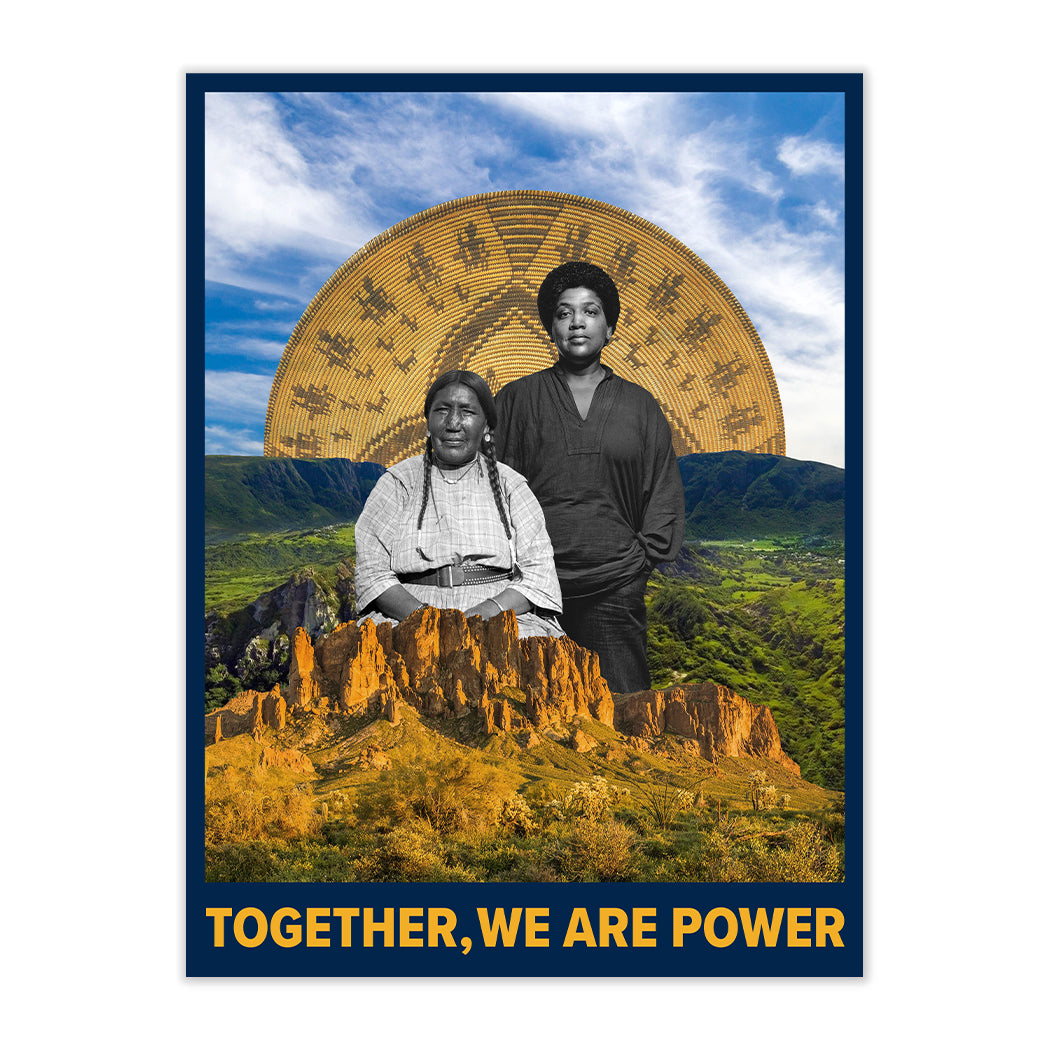 NEW! TOGETHER WE ARE POWER FINE ART PRINT