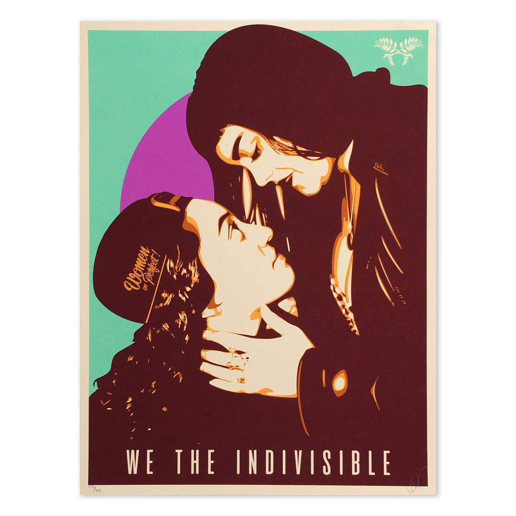WE THE INDIVISIBLE SILKSCREEN