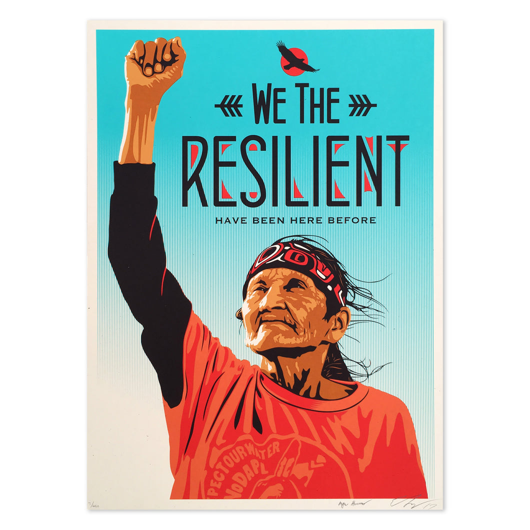 WE THE RESILIENT SILKSCREEN