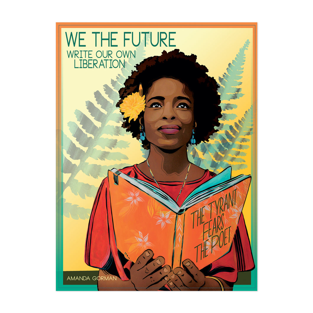 WRITE OUR OWN LIBERATION FINE ART PRINT