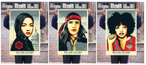 "We The Future 24x36"" Lithograph Prints by Shepard Fairey"