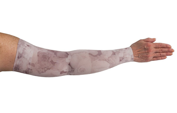 LympheDIVAS Romantic Rose 30-40 mmHg Armsleeve