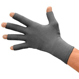 Solaris ExoSoft Glove 20-30mmHg - Full Finger, Black