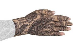 LympheDIVAS Black Paisley 20-30 mmHg Glove