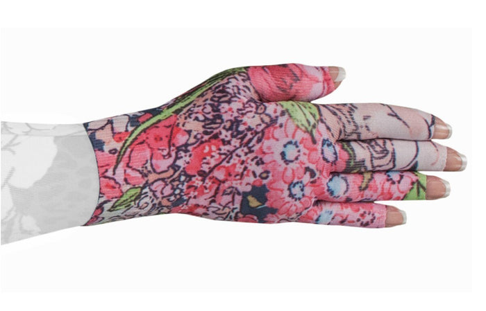 LympheDIVAS Bloomin' Betty 20-30 mmHg Glove