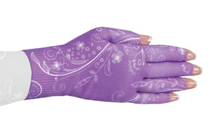 LympheDIVAS Firefly Purple 20-30 mmHg Glove