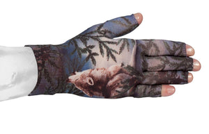 LympheDIVAS Wolf Song 20-30 mmHg Glove