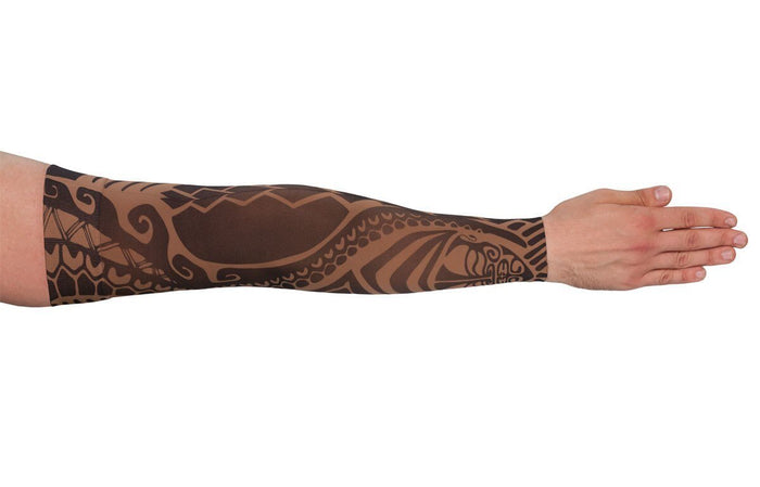 LympheDUDES Fierce Mocha 20-30 mmHg Armsleeve