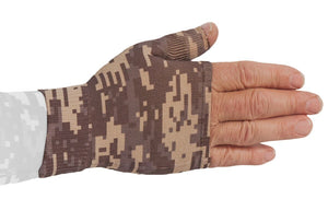 LympheDUDES Military Camouflage 30-40 mmHg Gauntlet