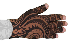 LympheDUDES Fierce Mocha 30-40 mmHg Glove