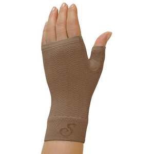 Solidea Advanced Micro Massage Compression Gauntlet - 25/32 mmHg, Camel