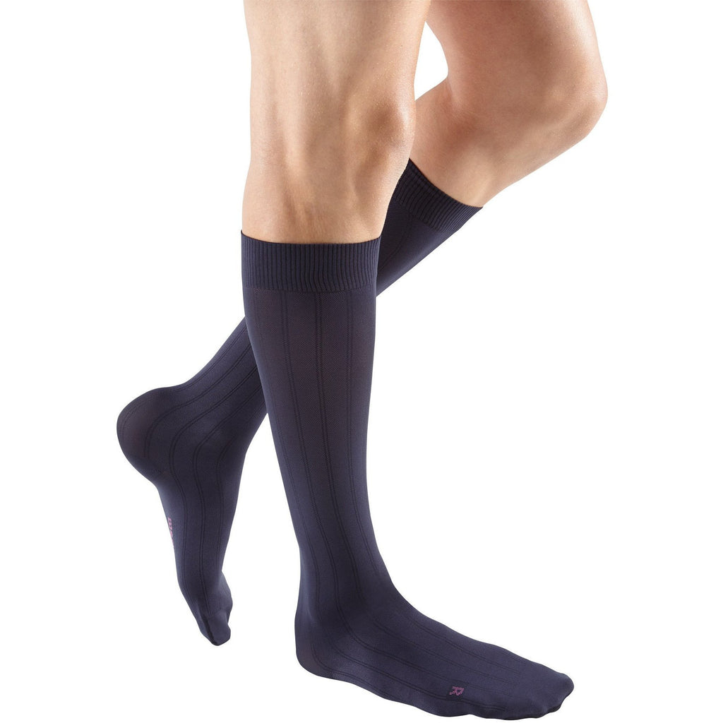 Mediven for Men Classic 20-30 mmHg Knee High, Navy