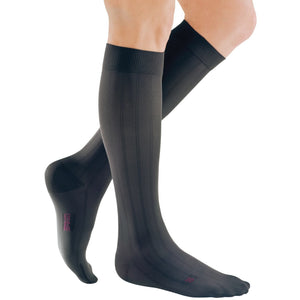 Mediven for Men Classic 30-40 mmHg Knee High, Extra Wide Calf, Grey