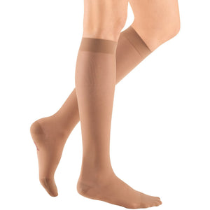 Mediven Sheer & Soft Women's 20-30 mmHg Knee High, Natural