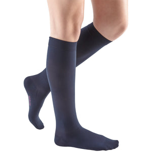 Mediven Comfort 20-30 mmHg Knee High, Navy