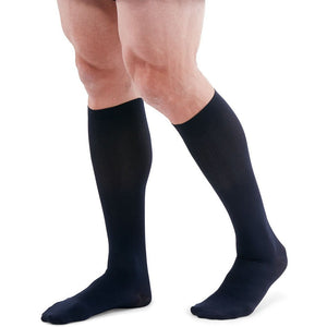 Mediven for Men 8-15 mmHg Knee High, Navy