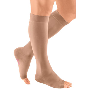Mediven Plus 20-30 mmHg OPEN TOE Knee High, Beige