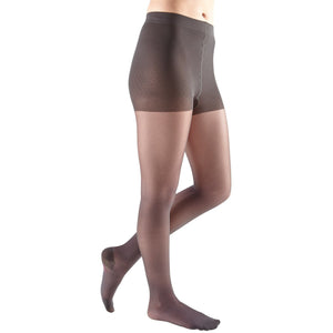 Mediven Sheer & Soft Women's 20-30 mmHg Pantyhose, Charcoal