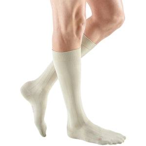 Mediven for Men Classic 30-40 mmHg Knee High, Extra Wide Calf, Tan