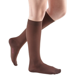 Mediven Comfort 15-20 mmHg Knee High, Chocolate