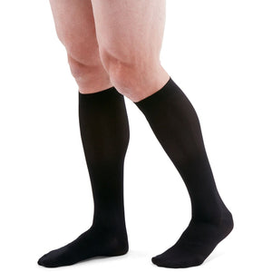 Mediven for Men 8-15 mmHg Knee High, Black