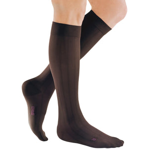 Mediven for Men Classic 30-40 mmHg Knee High, Extra Wide Calf, Brown