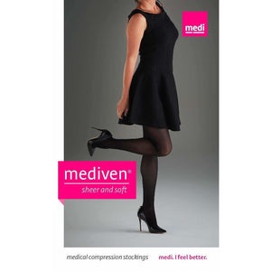 Mediven Sheer & Soft Women's 8-15 mmHg Thigh High