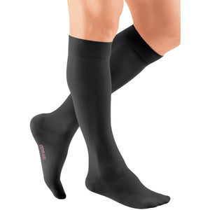 Mediven Plus 20-30 mmHg Knee High, Black