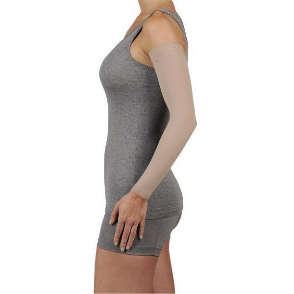 Juzo Soft 20-30 mmHg Armsleeve w/ Silicone Top Band