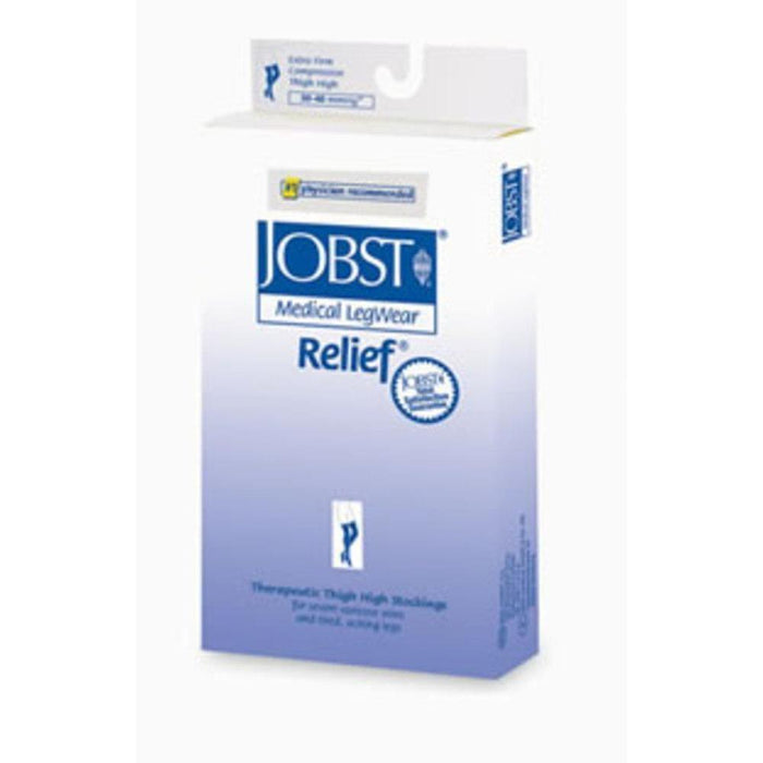 Jobst Relief 30-40 mmHg OPEN TOE Waist High
